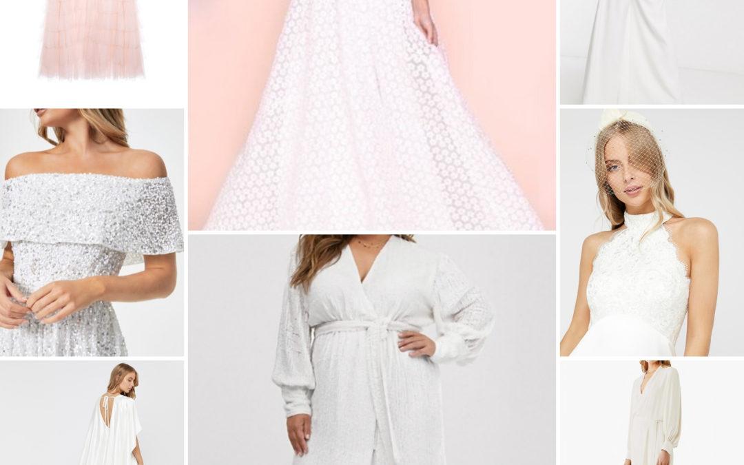 High Street Wedding dresses under £300