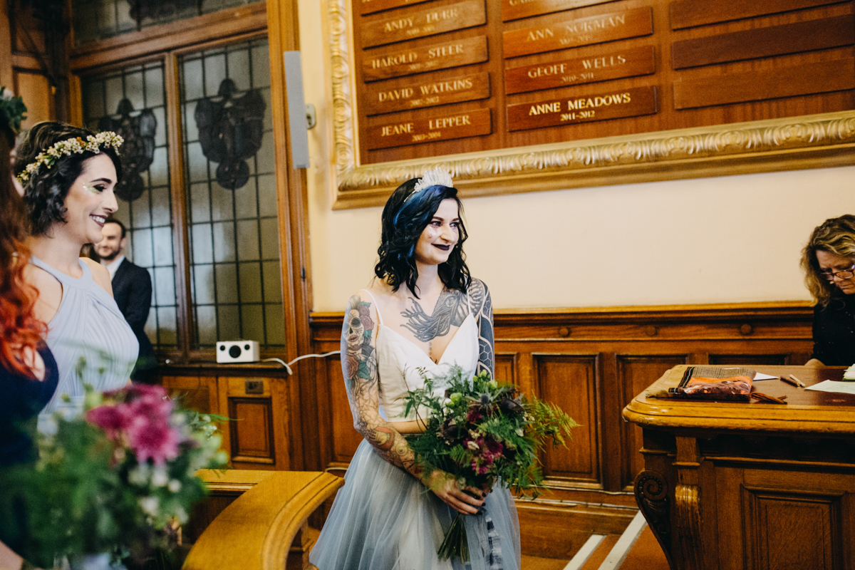 bridal entrance at brighton town hall