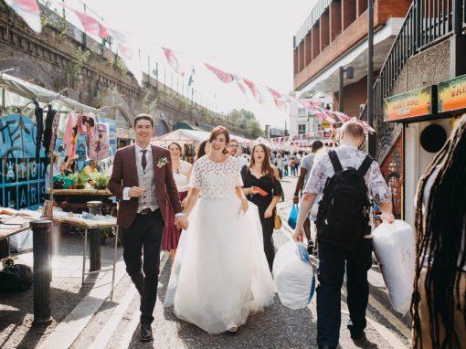 Summer Pop Brixton Wedding | Jill & Chris' London Wedding