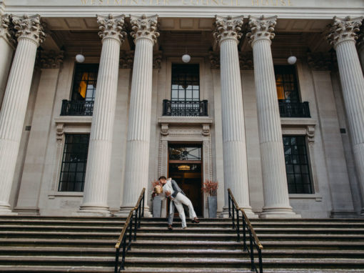 Old Marylebone Town Hall elopement