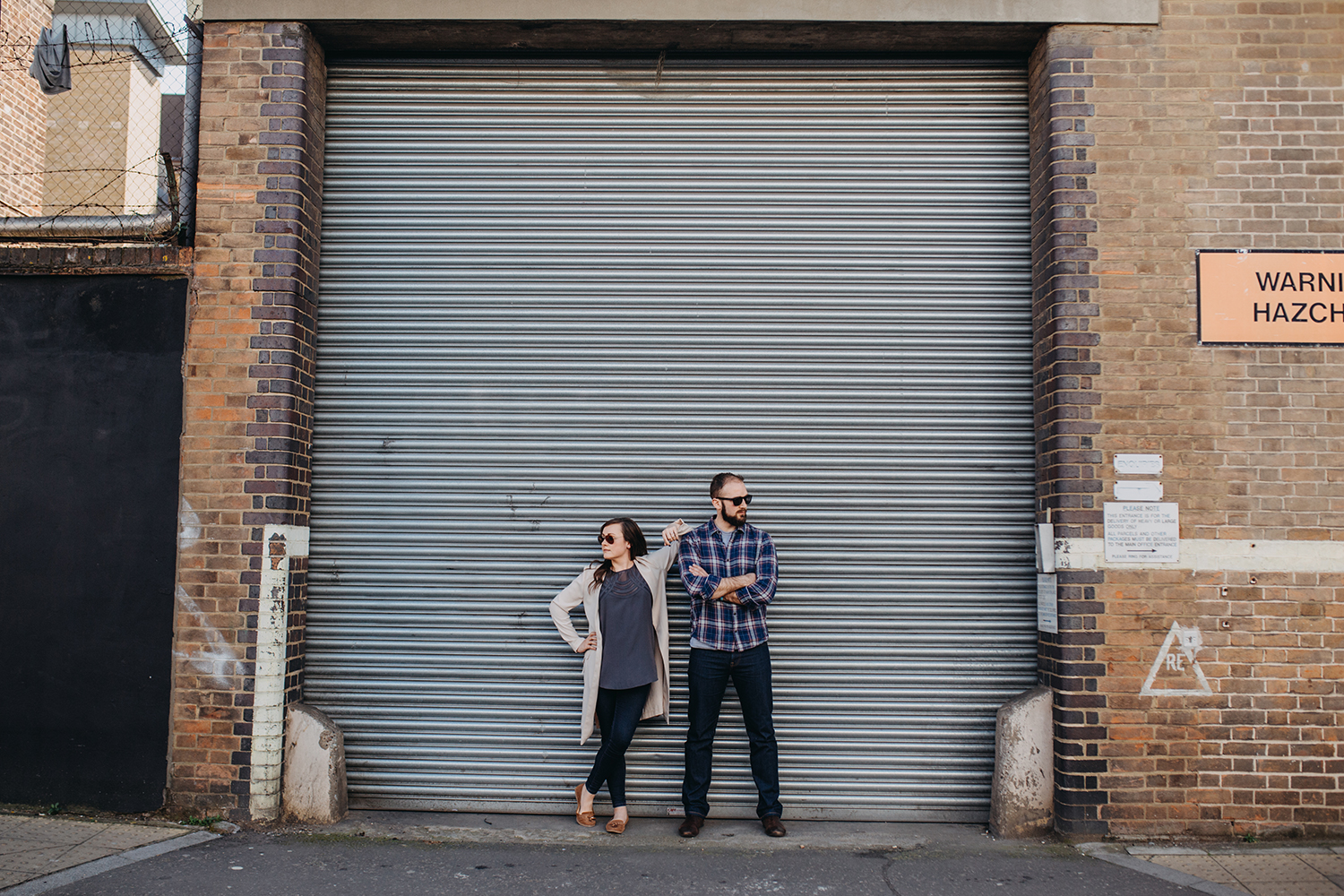 fun engagement shoot dalston lex fleming photography