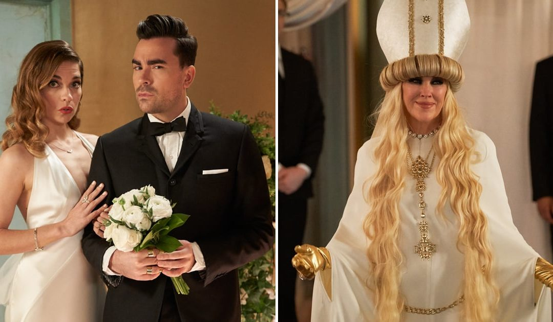 Your wedding day according to Schitt's Creek's wedding