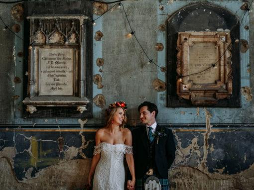 Asylum Chapel Peckham Wedding Photographer|Lucy & James' wedding part 1!