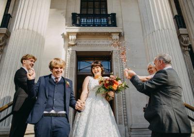 marylebone town hall elopement photographer